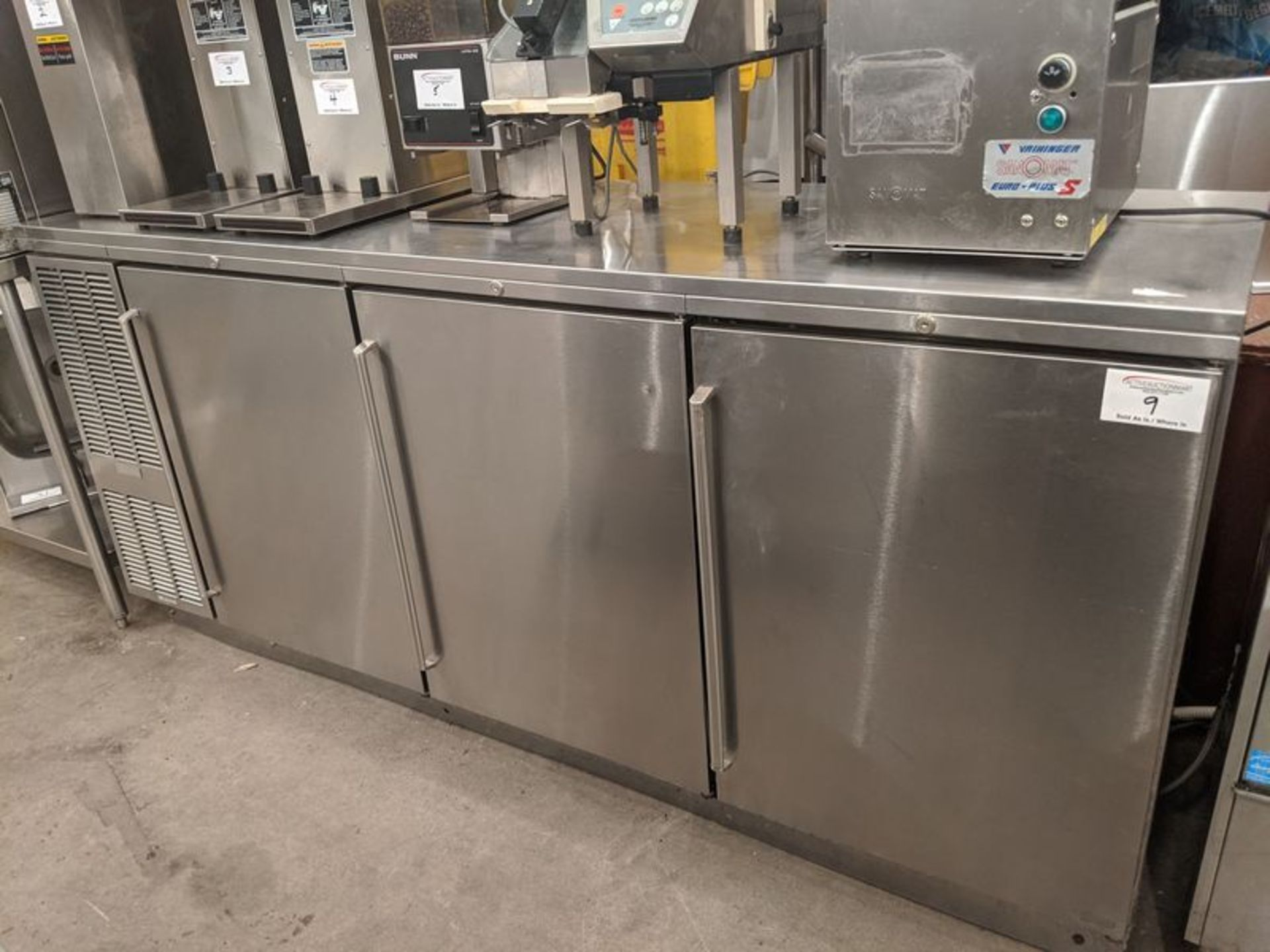 Lot 9 - Perlick 7ft Self Contained Back Bar