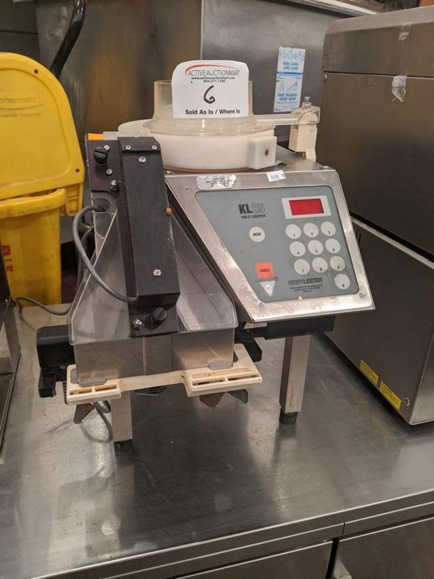 Lot 6 - Kirby Lester KL25 Tablet Counter