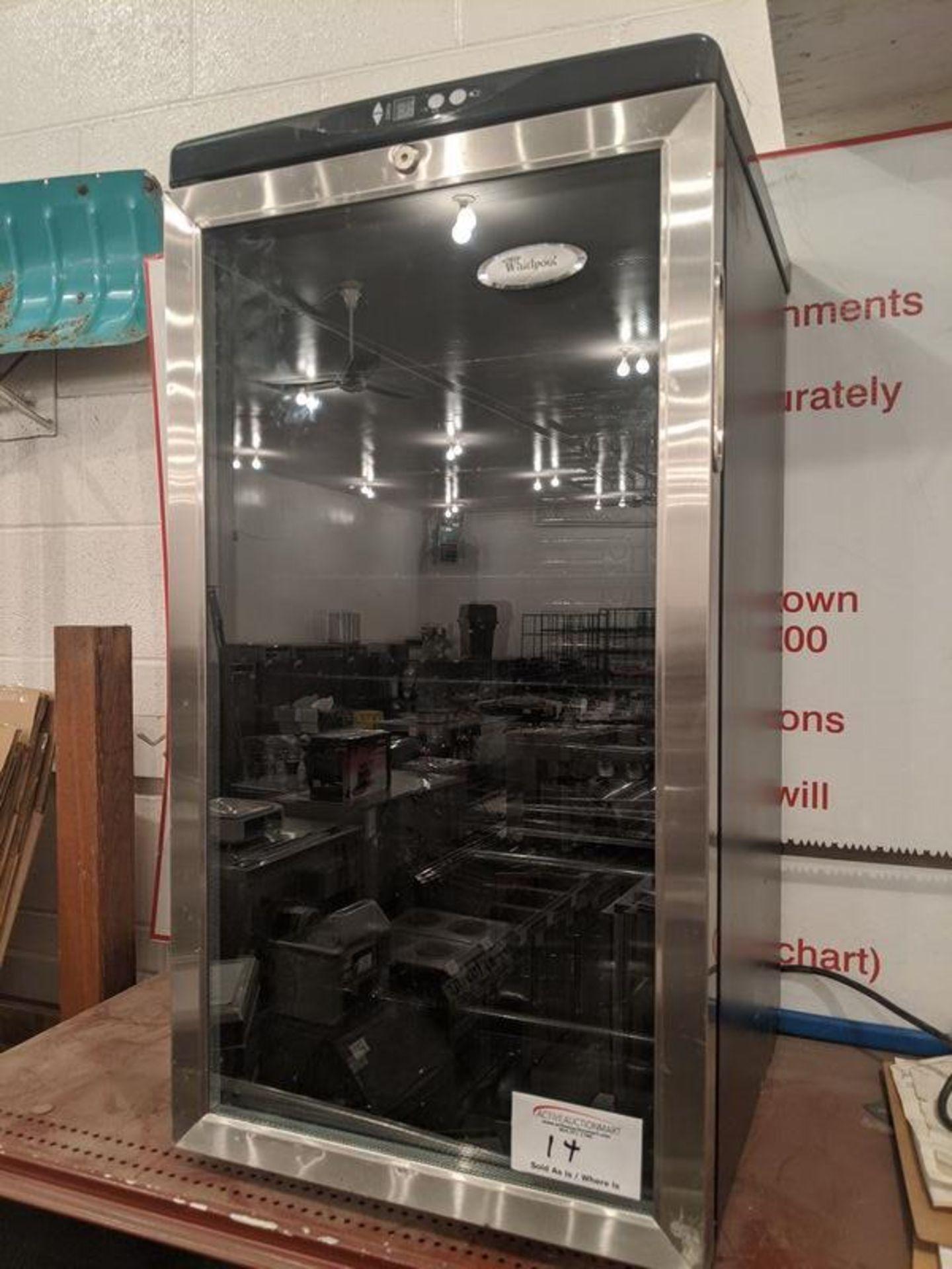 Lot 14 - Whirlpool Bar Fridge with Glass Door