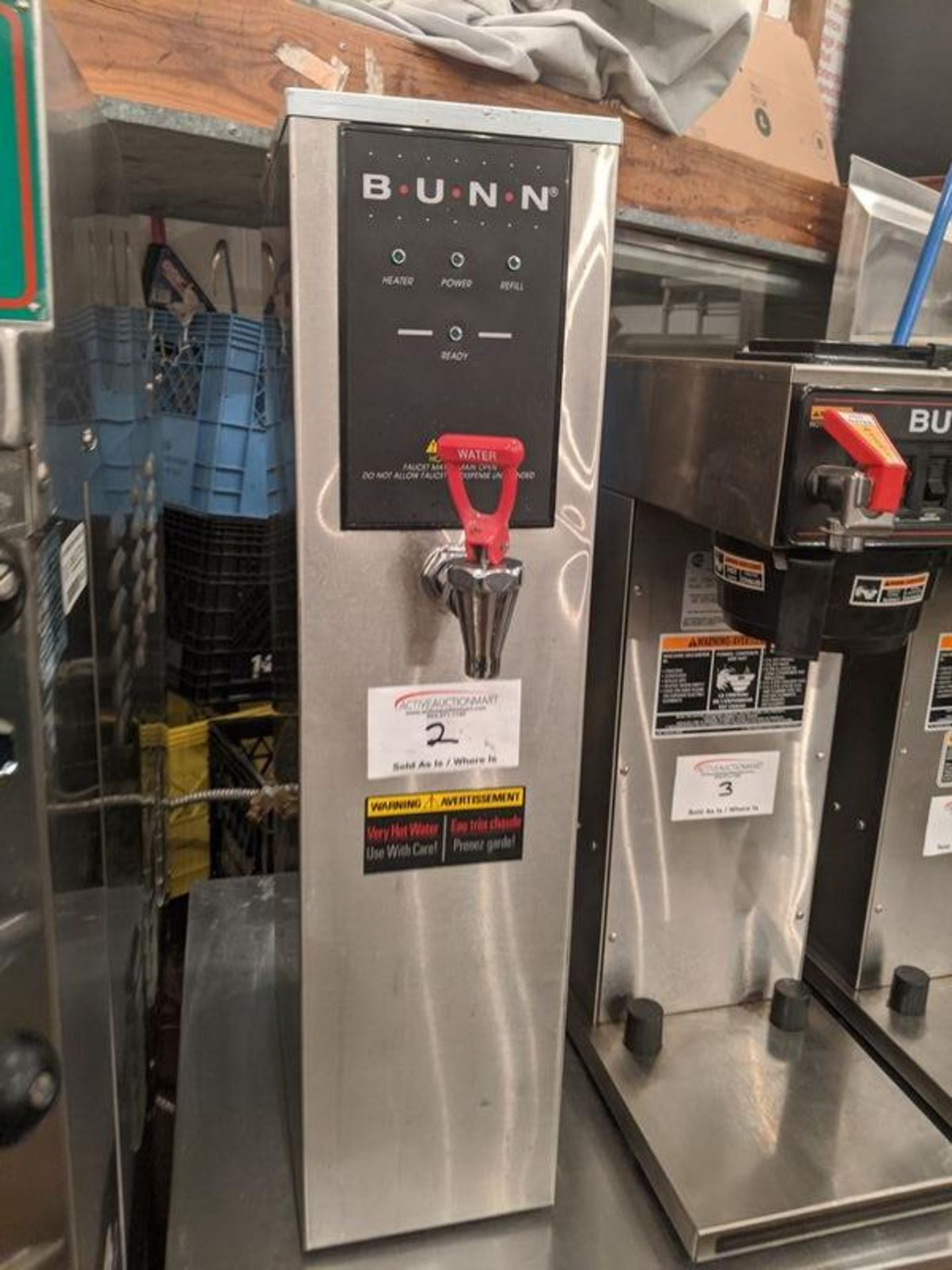 Lot 2 - Bunn Hot Water Dispenser