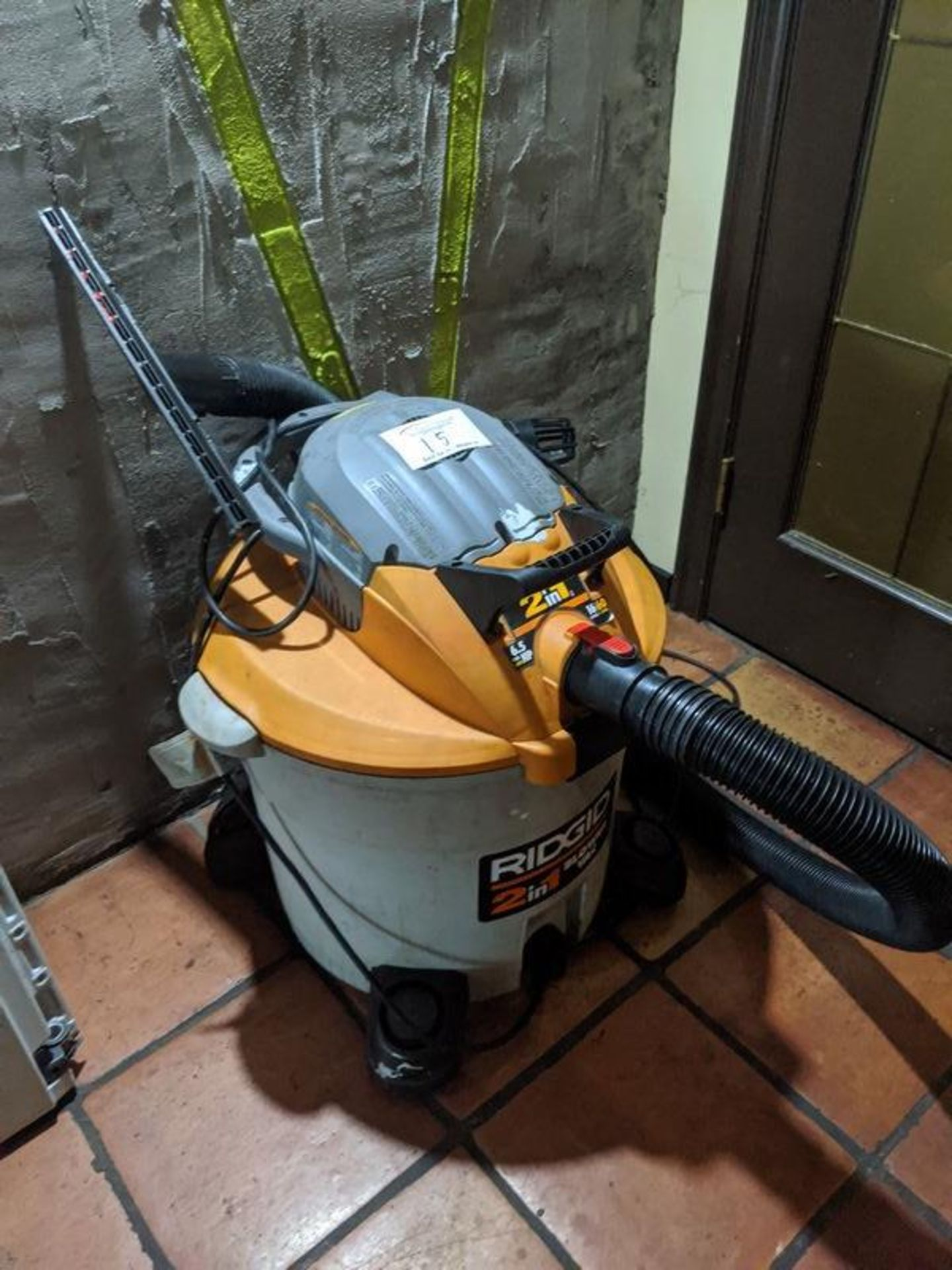 Lot 15 - Rigid Shop Vac