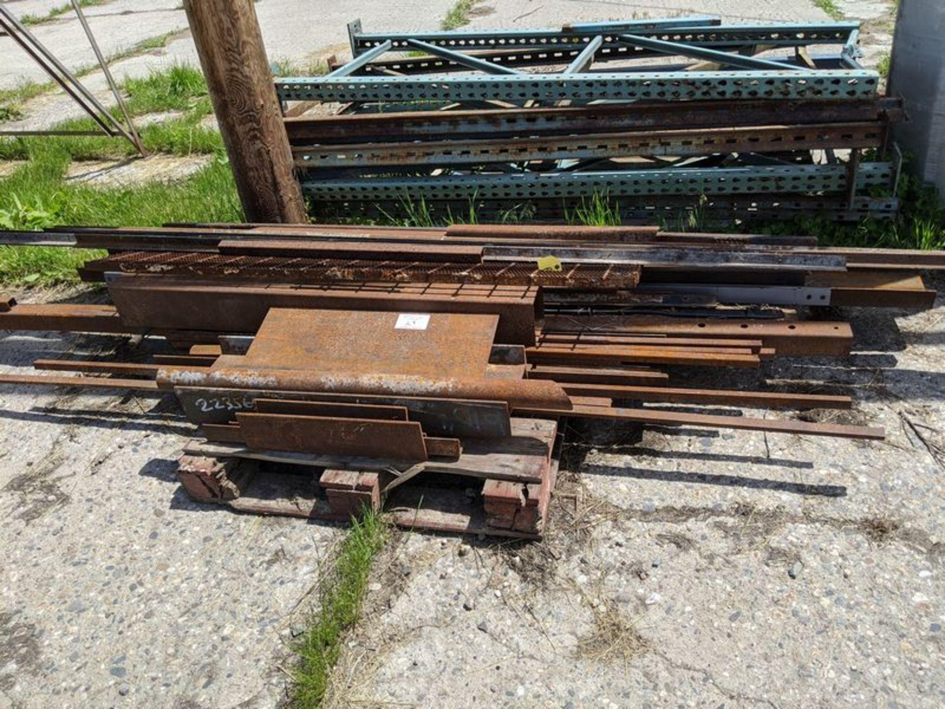 Lot 29 - Skid of Assorted Steel