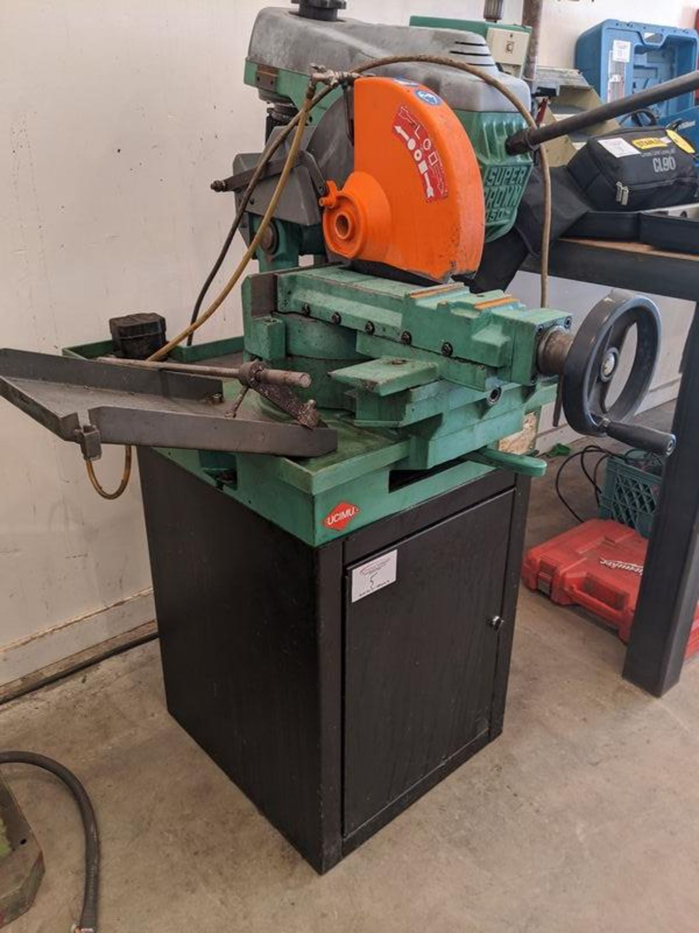 Lot 5 - Super Brown 350 Cut Off Saw
