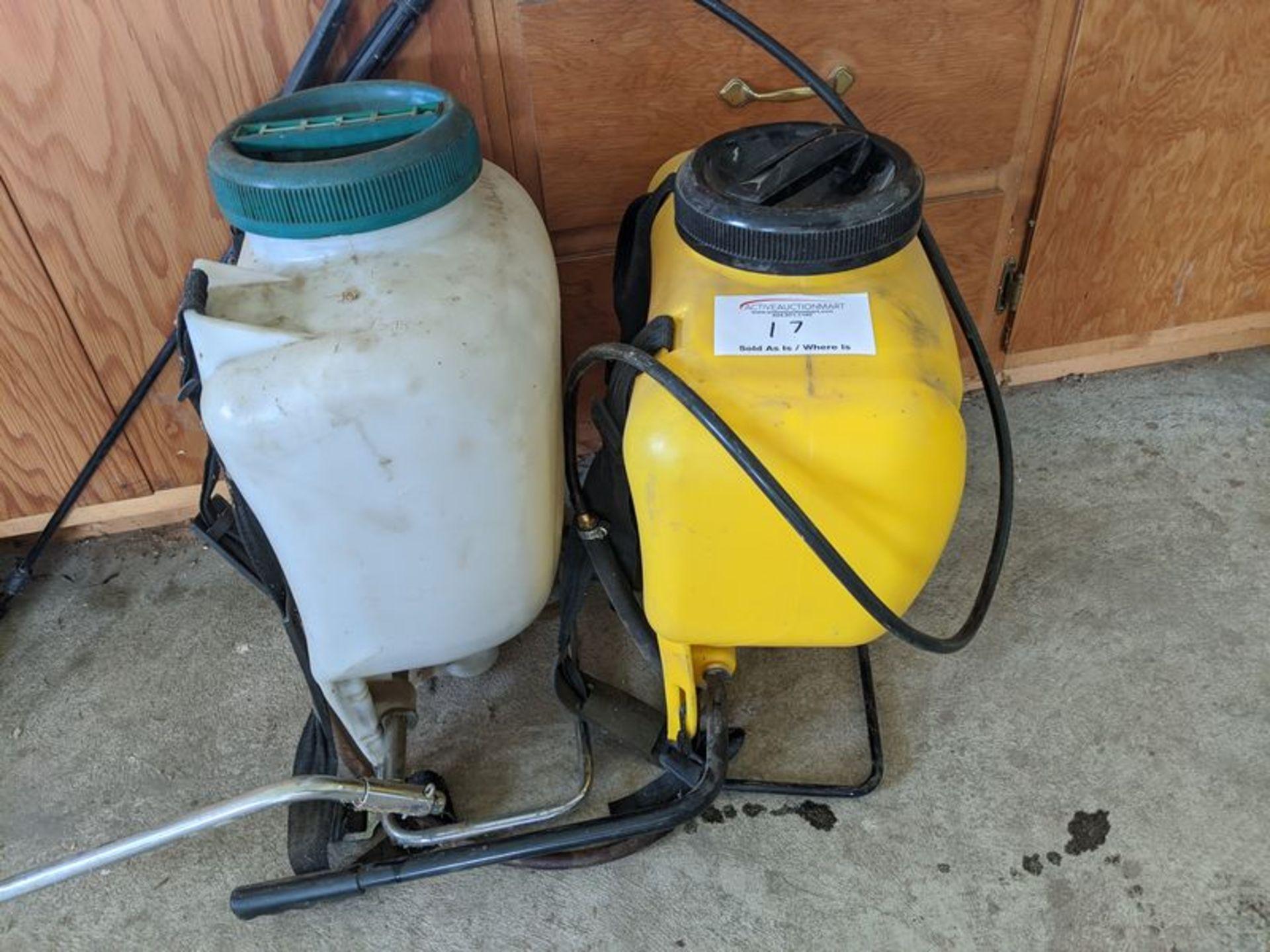 Lot 17 - 2 Backpack Sprayers