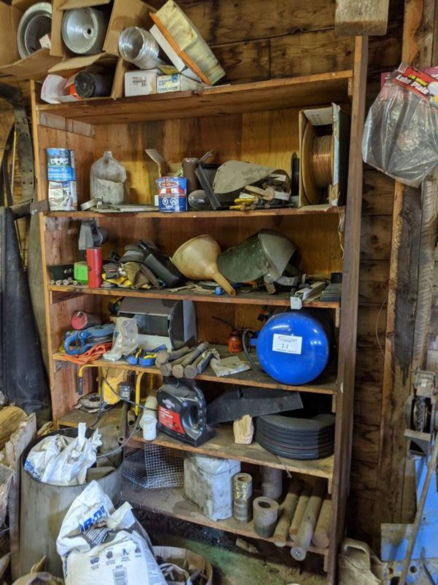 Lot 33 - Cupboard of Assorted Supplies
