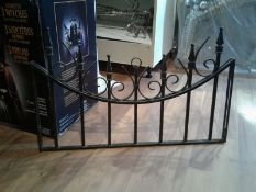 8 Custom Wrought Iron Top Rails - Approx. 20""
