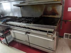 "Therma-Tek 60"" Range with 2 Ovens, 6 Burners & 24"" Griddle"