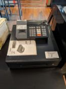 Casio Cash Register with Keys and Manuals