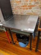 "30 x 30"" Stainless Steel Table"