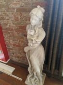 Greek Goddess Plaster Statue