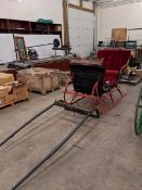 McLaughlin Cutter Sleigh with Antique Light