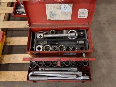 2 Large Socket Sets