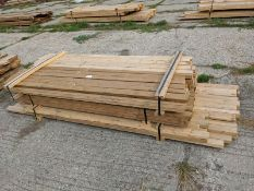 2 x 4 and 2 x 6 - 8'-12' - 83 Pieces, Some Treated