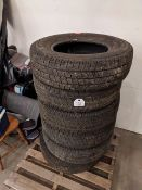6 Michelin Tires - LT235/80/R17
