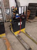 Electric Pallet Mover with New Battery - Requires Welding