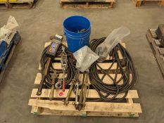 Skid of Welding Cables, Torches, ETC