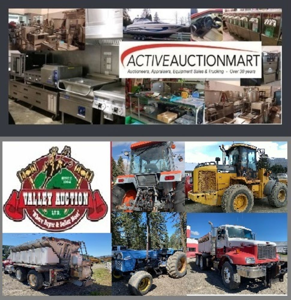 Live & Online Auction - Farm Machinery, Industrial Related, Bailiff Seized Goods Plus Others