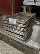 Approx. 28 Full Size Stainless Steel Inserts
