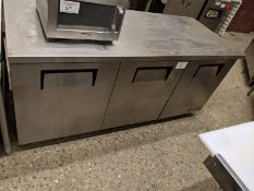 "True 72"" Undercounter Cooler"