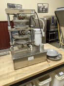 Comtech 2200 Pie Press - Used 2 years