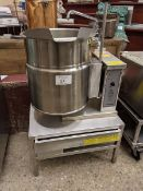 Cleveland Model KET12 Electric Kettle on Stand