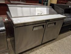 "Atosa Model MSF8303 - 60"" Refrigerated Prep Table"