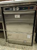 Moyer Diebel Model 301HT Undercounter Dishwasher