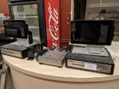 POS X Pos System with 2 Displays, 2 Cash Drawers, 2 Bar Code Scanners and Scale