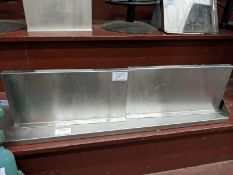 "Two 27"" Custom Stainless Steel Wall Shelves. Price Each times 2"