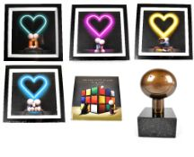 DOUG HYDE (born 1972);a limited edition presentation box 'The Box of Love' to include four framed