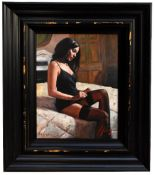 FABIAN PEREZ; signed limited edition print, 'Kayleigh at the Ritz III', edition 74/195, signed lower