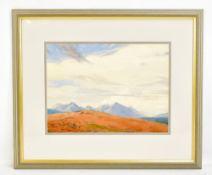 WILLIAM HEATON COOPER RI (British, 1903-1995); watercolour (1/4 Imperial), 'Western Cuillins,