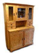 A Dutch pine dresser,