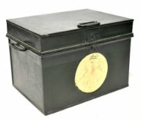 A Milners Patent Fire-Resisting Safe Box,