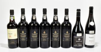PORT; six bottles of Selected by Tesco Port comprising single Tawny Ten Year Old and six 1994