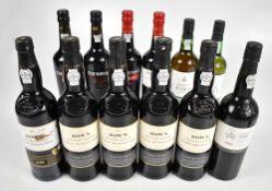 PORT; ten bottles comprising five Dow's Finest Reserve, four Cockburn's 2009 LBV Fine Ruby and