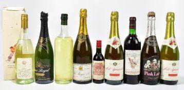 CHAMPAGNE; a single bottle of Pol Roger & Co Epernay Extra Dry 1973 Champagne, also a single bottle