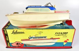 SCHUCO; a boxed 5550 Elektro Nautico model boat with pilot and compass.Additional InformationLight
