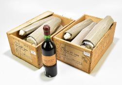 PORTUGAL; twelve 75cl bottles of Caves Sao Joao Reserva Particular 1975 (12).