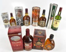 WHISKY; a bottle of Jameson blended Whiskey and five individual bottles of blended Whisky comprising