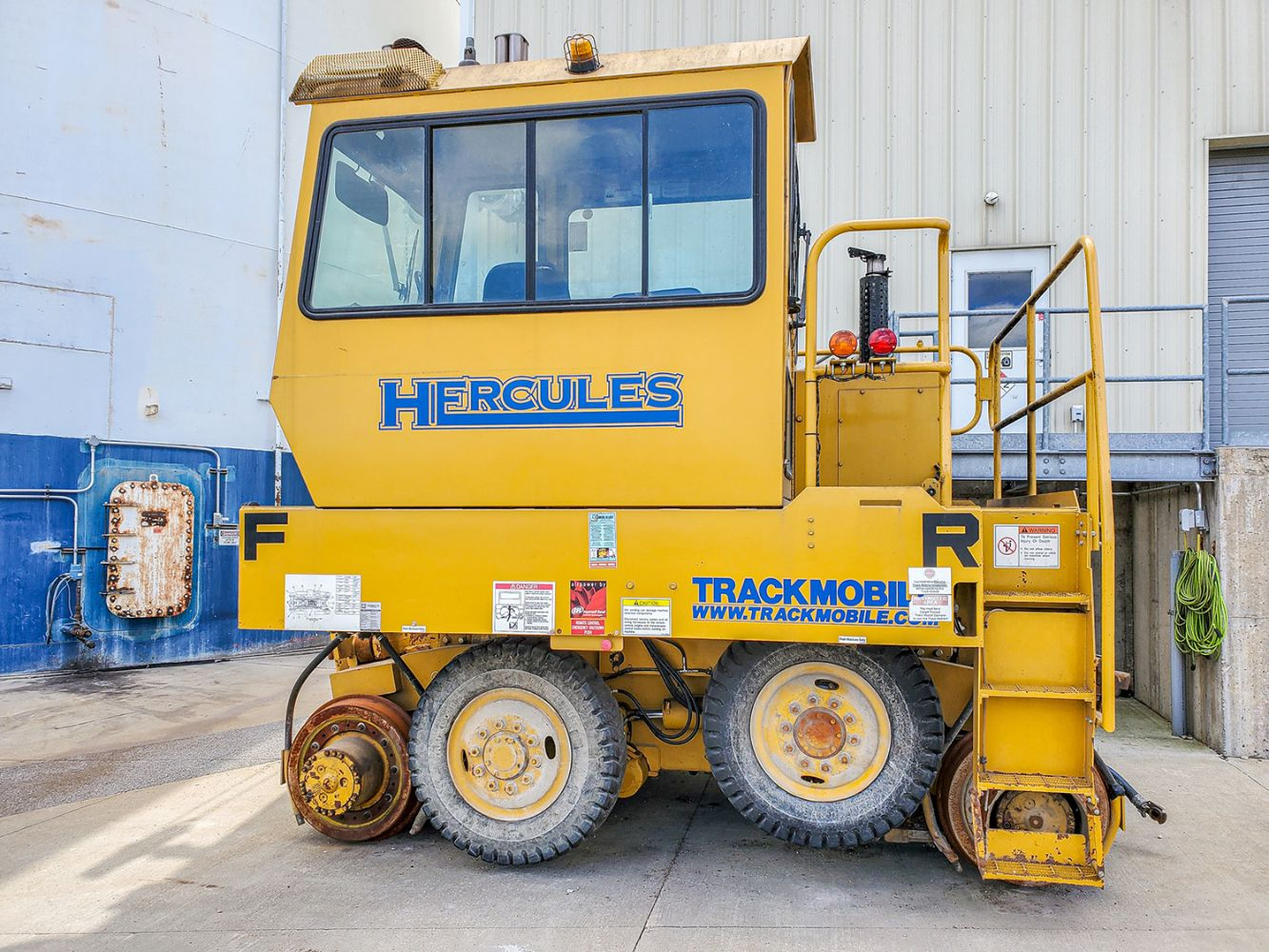 Online Only Auction For Hercules Rail Car Mover