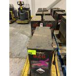 (9) Pallet jack batteries