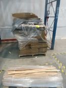 Pallet of boxes, trim