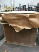 (2) pallets of slip sheets