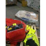 boxes and onion sacks