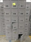 18 unit locker set