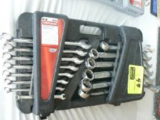 24-PIECE CRAFTSMAN COMBINATION STANDARD WRENCH SET