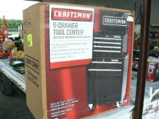 CRAFTSMAN 6-DRAWER TOOL CENTER IN BOX