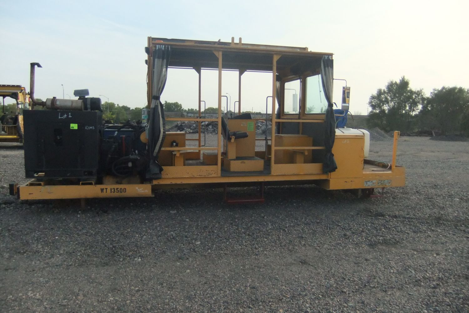 ABSOLUTE PUBLIC AUCTION - FOR UNION PACIFIC RR - LARGE SELECTION OF SURPLUS MofWAY & HEAVY EQUIPMENT