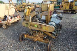 "RSAP0902 Meadoweld Rail Saw; Model #"" RS98; S/N: 448"